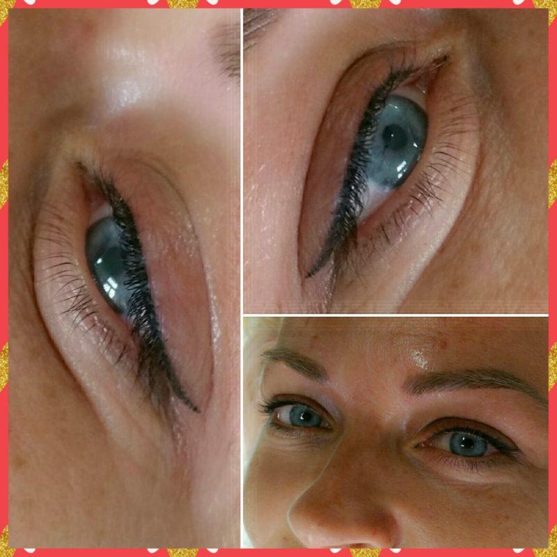 Ukázka permanentního make-upu
