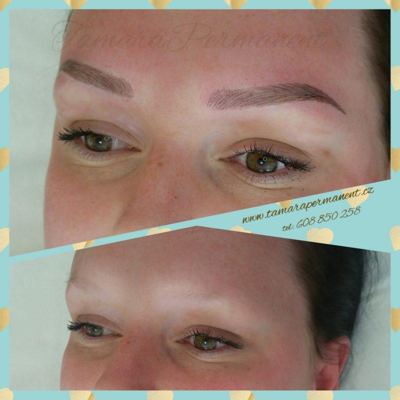 Ukázka permanentního make-upu 02
