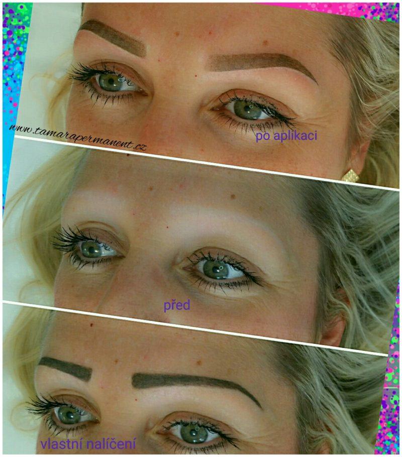 Ukázka permanentního make-upu 07